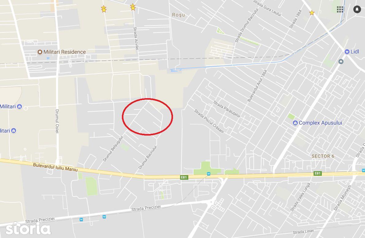 Teren de Vanzare, București (judet), Militari - Foto 1