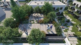 Apartament A1.10 z ogrodem na dachu 95m2 4 pokoje