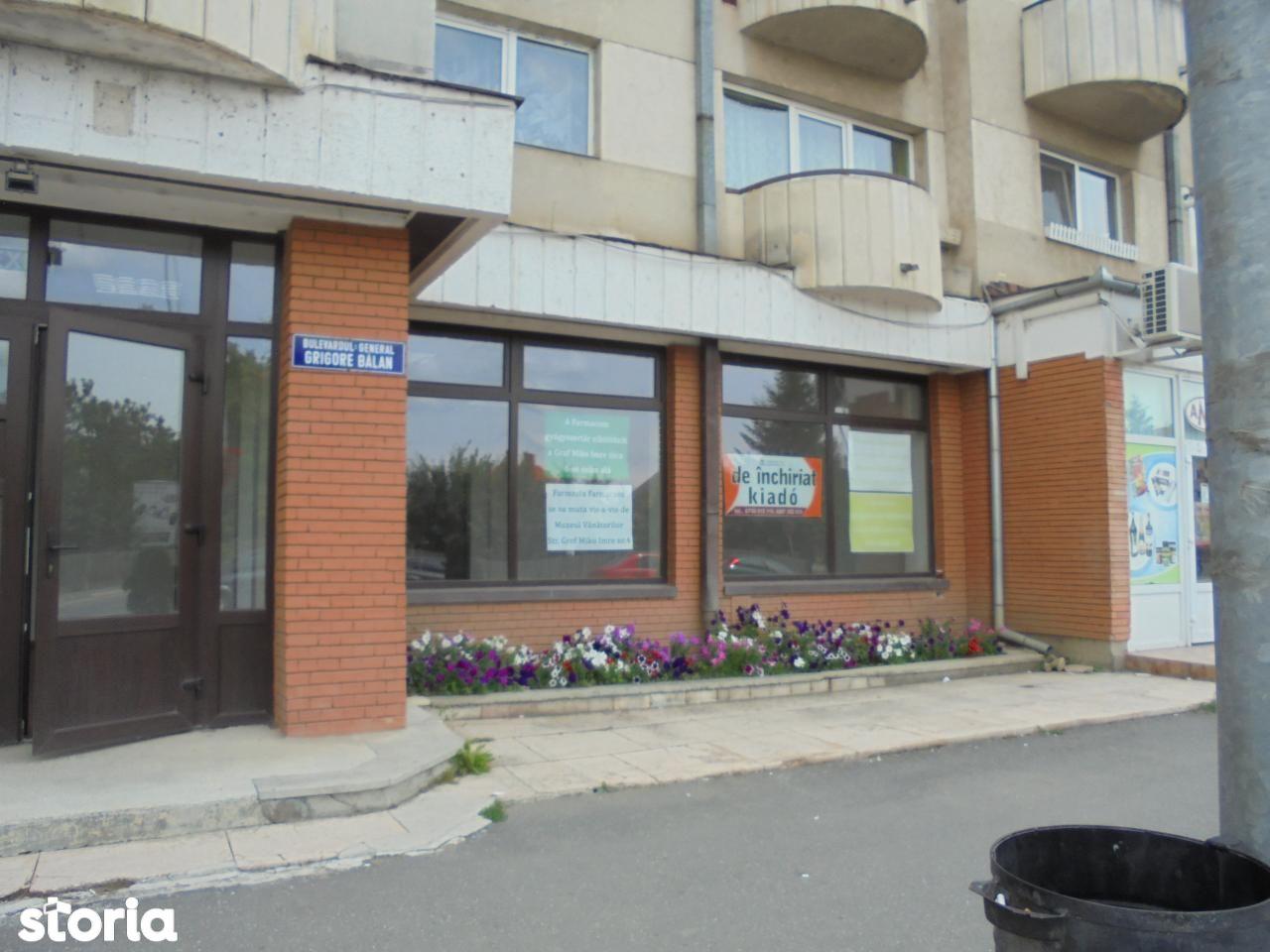 Spatiu Comercial de inchiriat, Covasna (judet), Sfântu Gheorghe - Foto 1