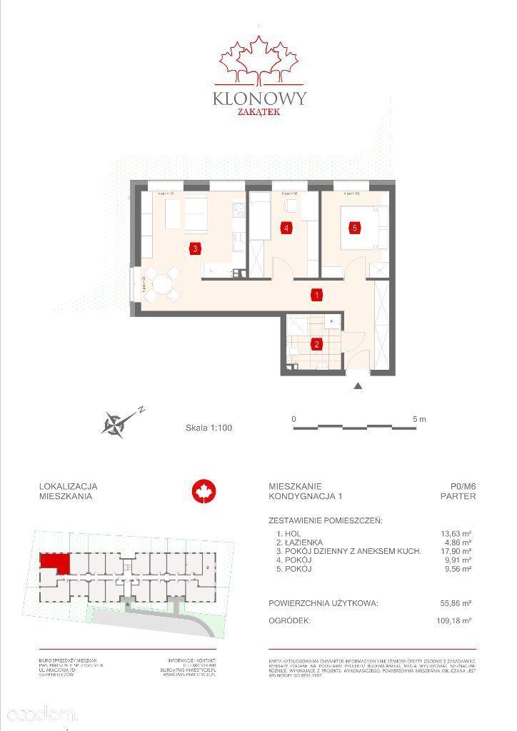 Mieszkanie na sprzedaż, Kamieniec Wrocławski, wrocławski, dolnośląskie - Foto 1009