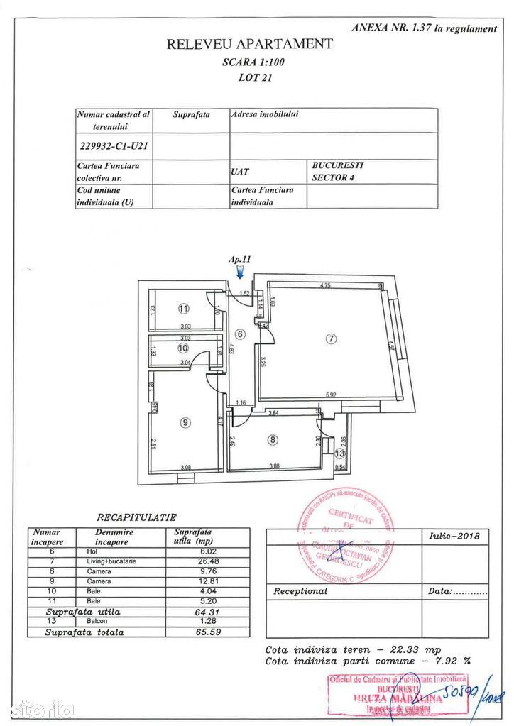 Apartament de vanzare, București (judet), Strada Dâmbului - Foto 1