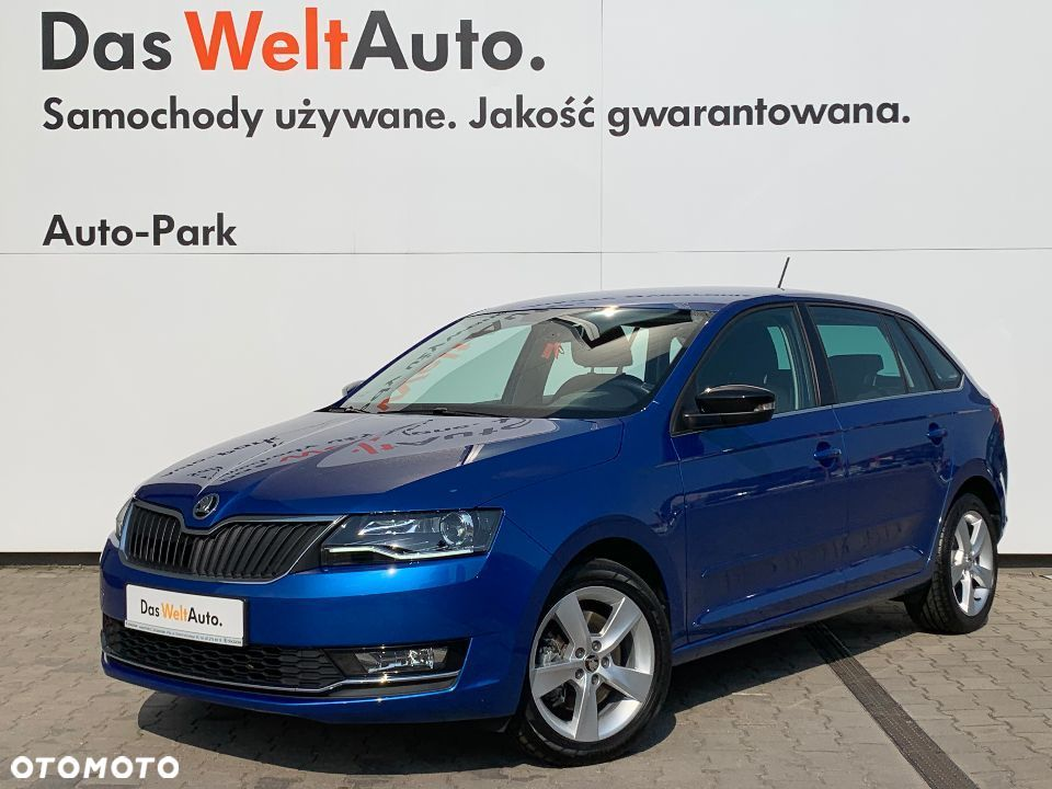 Škoda RAPID Style 1.6TDI 115KM Bi Xenon Smart link Light assist Chrom Ceramika - 2