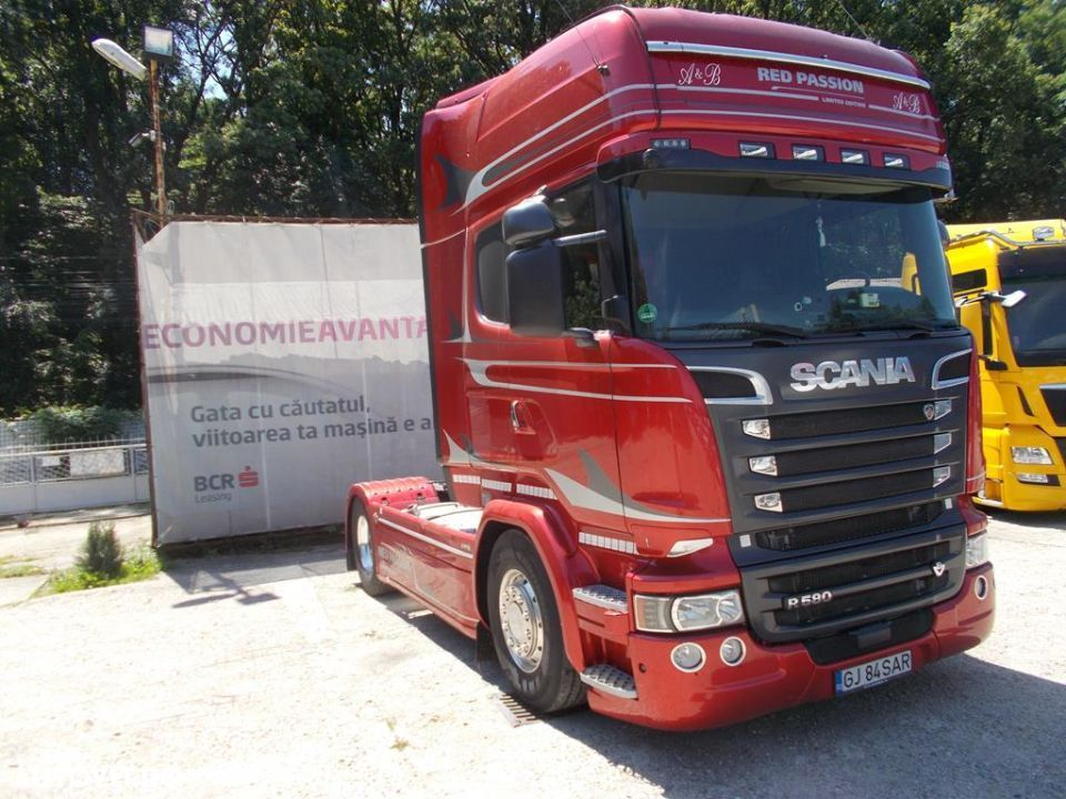 Scania R580 4X2 RED Passion - 2