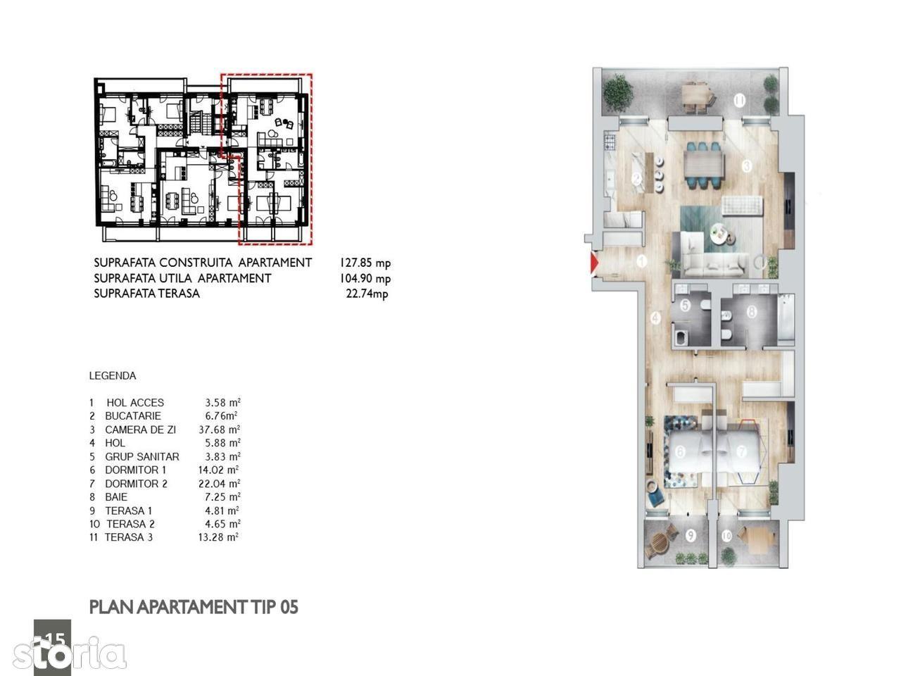 Apartament de vanzare, Bucuresti, Sectorul 1, Kiseleff - Foto 3