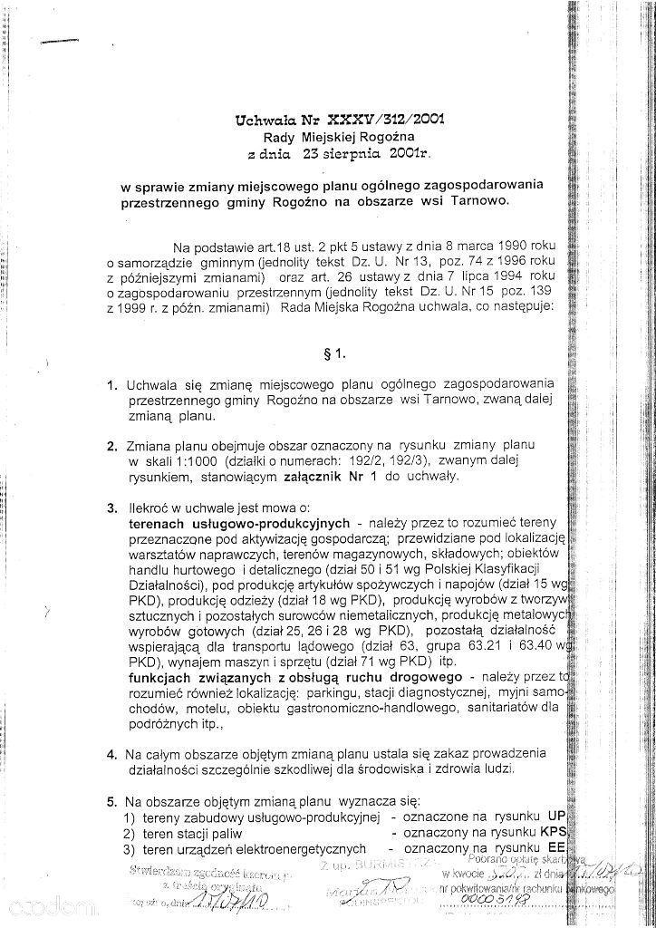 Działka na sprzedaż, Rogoźno, obornicki, wielkopolskie - Foto 12