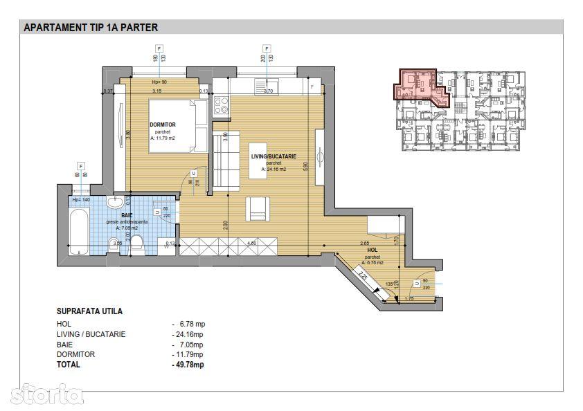 Apartament de vanzare, Suceava (judet), Sfântu Ilie - Foto 1