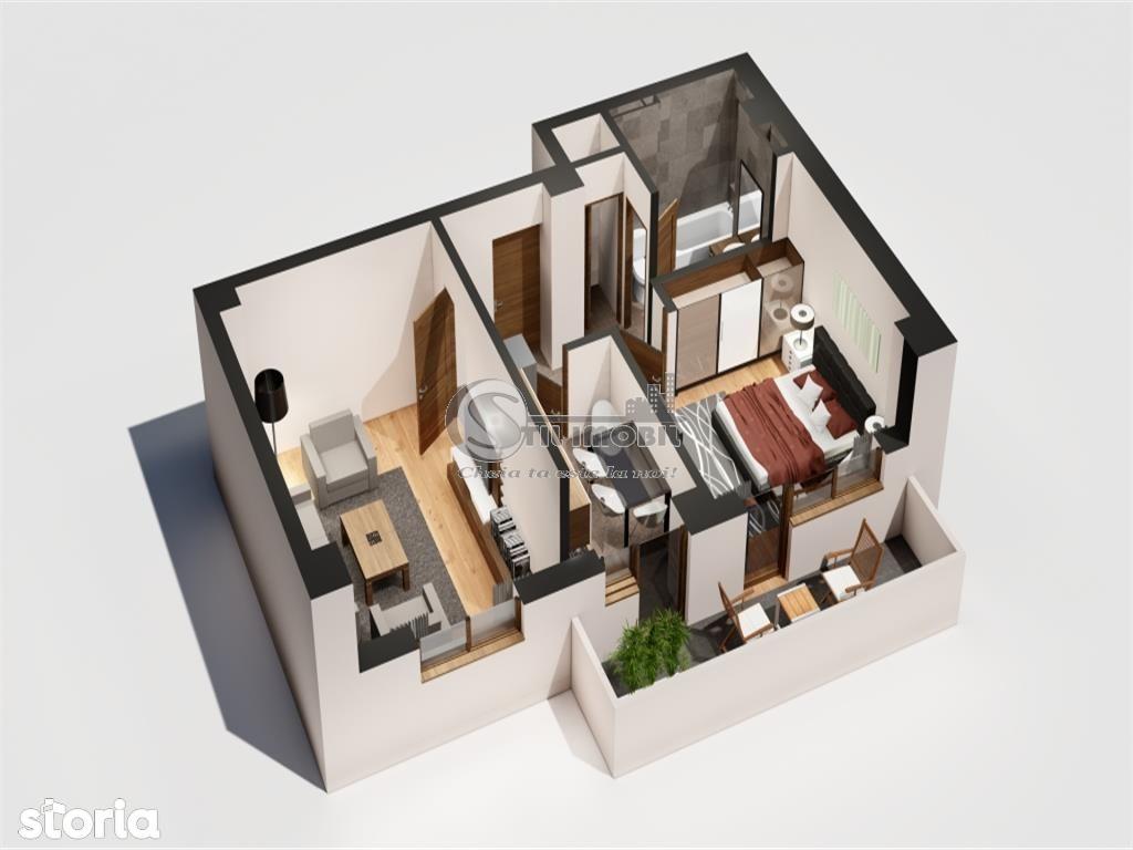 Apartament de vanzare, Iași (judet), Strada Ciurchi - Foto 2