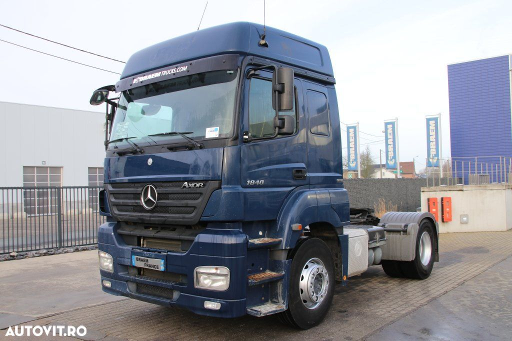 Mercedes-Benz AXOR 1840 LS + MANUAL + EURO 5 - 1