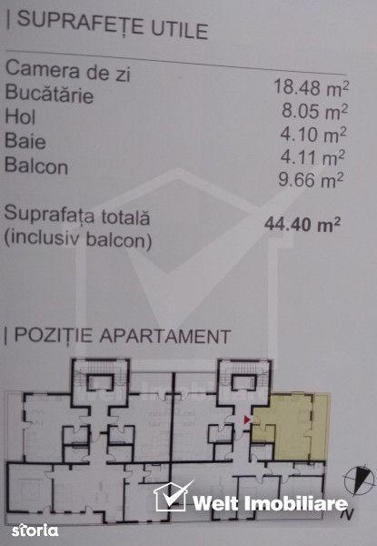 Apartament de vanzare, Cluj (judet), Bună Ziua - Foto 4