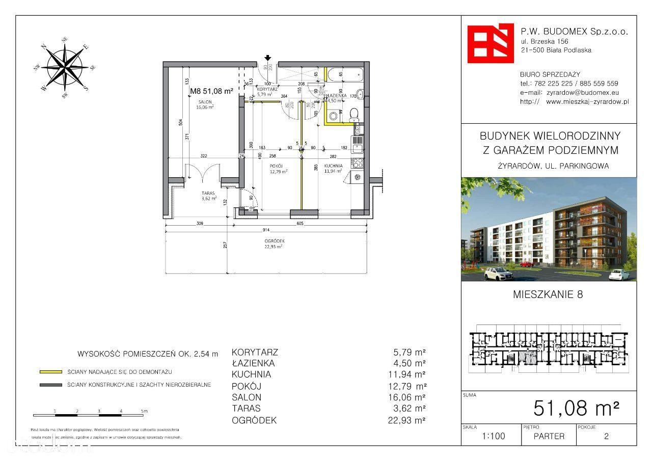 Mieszkanie na sprzedaż, Żyrardów, żyrardowski, mazowieckie - Foto 1