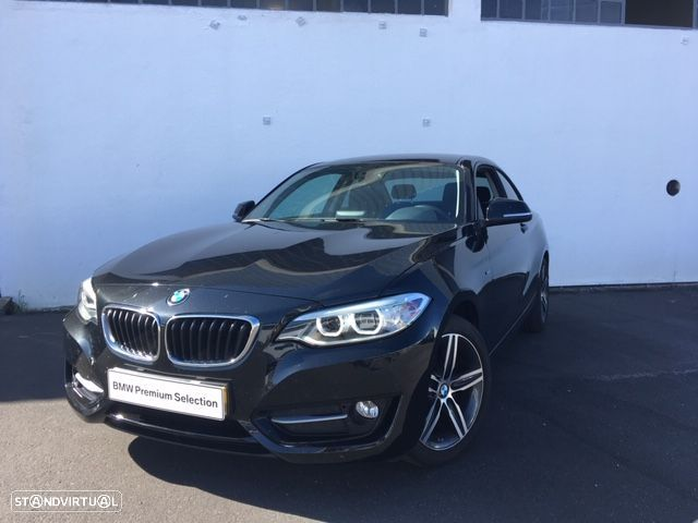 BMW 218 Coupe Line Sport - 1