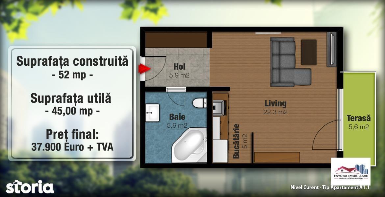 Apartament de vanzare, Mureș (judet), Strada Livezeni - Foto 2