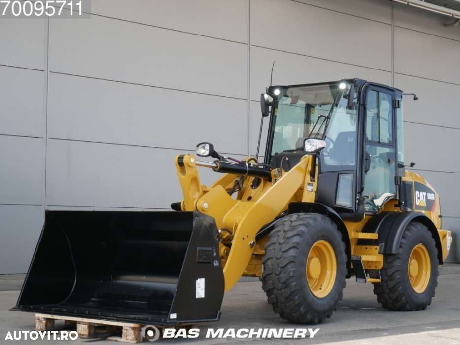 Caterpillar 908 M Bucket and forks - ride controle - warranty - 1
