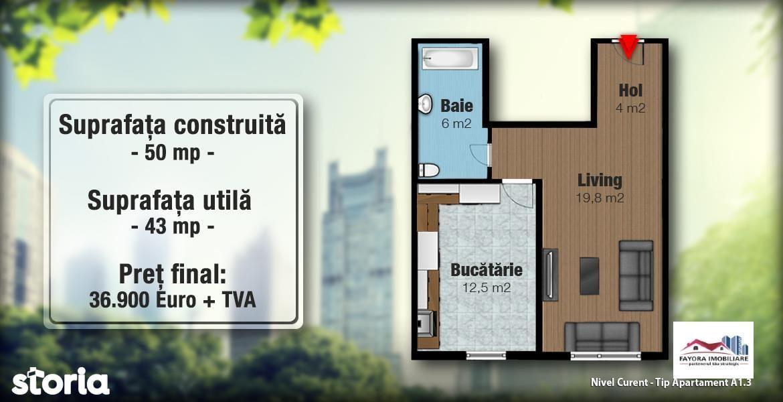 Apartament de vanzare, Mureș (judet), Strada Livezeni - Foto 4
