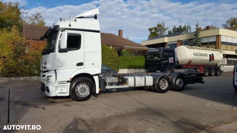 Mercedes-Benz Actros 2545 Mp4 Bdf Streamsp. Euro 6 Intarder - 17