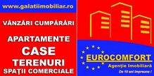 Aceasta teren de vanzare este promovata de una dintre cele mai dinamice agentii imobiliare din Galați (judet), Bariera Traian: Eurocomfort Imobiliare