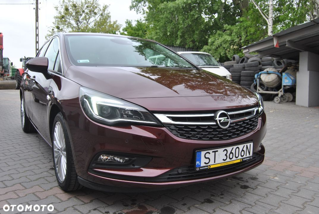 Opel Astra 1.4 Turbo 125 ps On star 1000 km Przebiegu Navi Kamera - 11