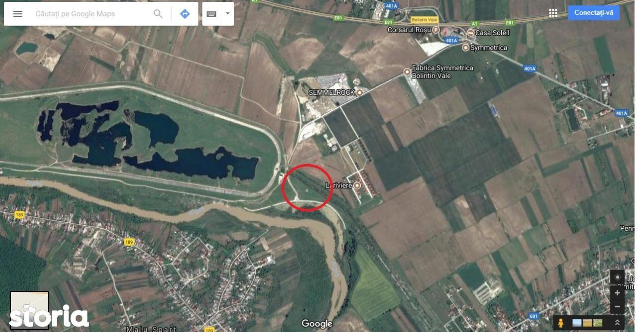 Teren de Vanzare, Giurgiu (judet), Malu Spart - Foto 1