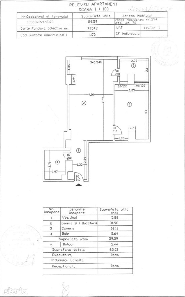 Apartament de vanzare, Bucuresti, Sectorul 3, Nicolae Grigorescu - Foto 1