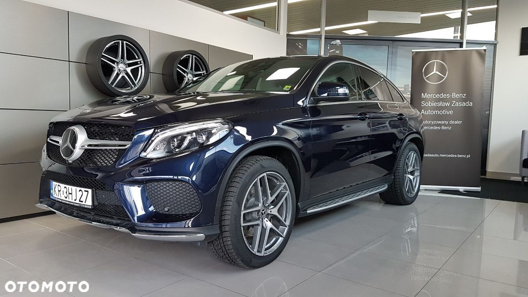 Mercedes-Benz GLE GLE 350d 4MATIC, Pakiet AMG, Lampy ILS LED, AIRMATIC, Kamera 360. - 1