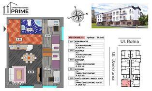 Katowice- M2 Apartament 3 pokojowy - 51,49m2