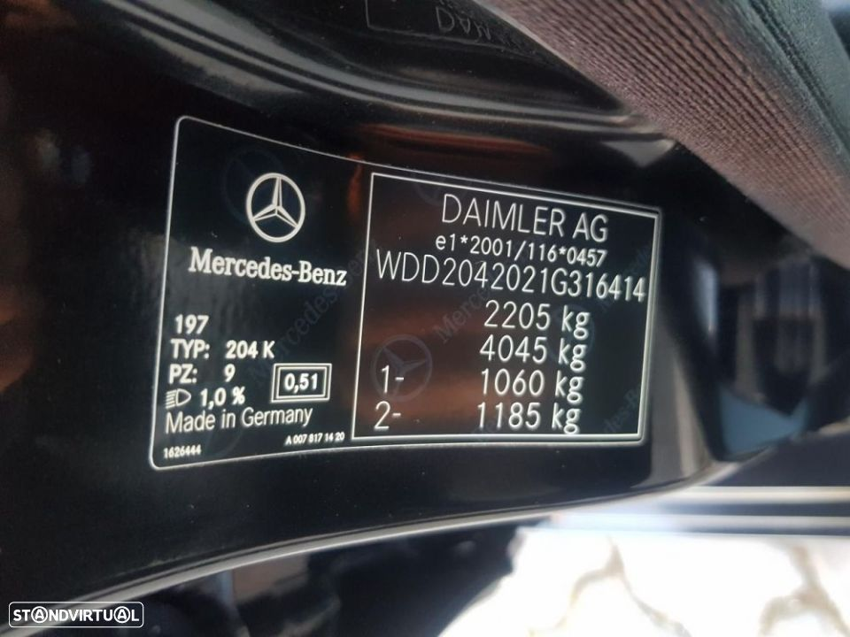 Mercedes-Benz C 220 CDi Avantgarde BlueE.Aut. - 25