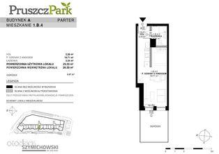Pruszcz Park, budynek A, mieszkanie 1.B.4