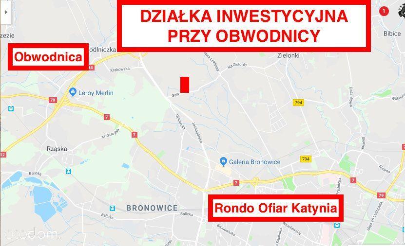 Działka na sprzedaż, Kraków, Tonie - Foto 1