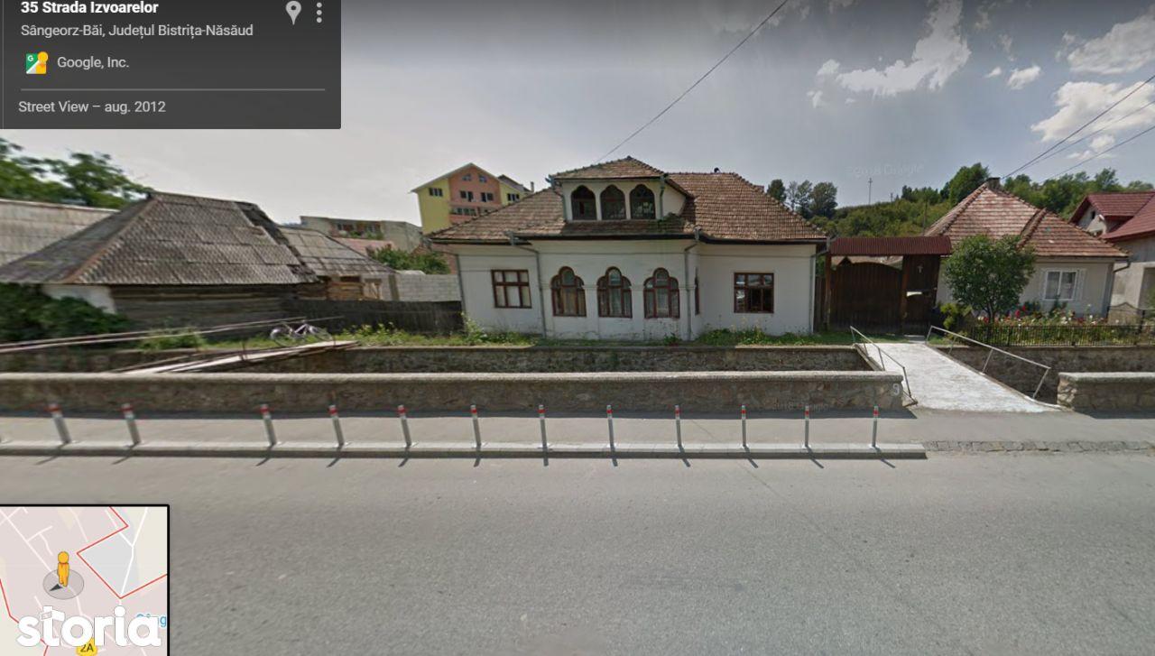 Spatiu Comercial de vanzare, Bistrița-Năsăud (judet), Sângeorz-Băi - Foto 1