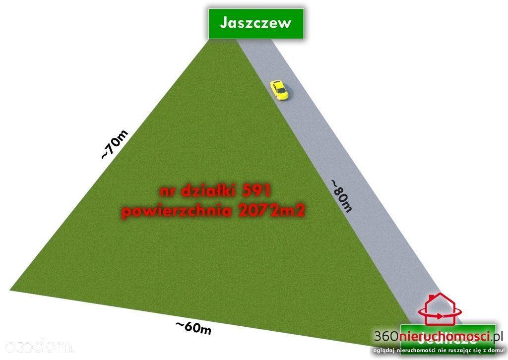 Działka na sprzedaż, Jaszczew, krośnieński, podkarpackie - Foto 2