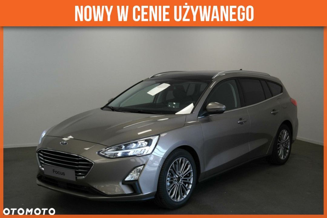Ford Focus 1.0 EcoBoost 125KM A8 'TITANIUM BUSINESS'|Asystent parkowania i inne! - 1