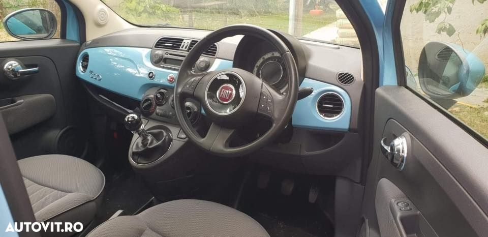 airbag pasager fiat 500 facelift - 1