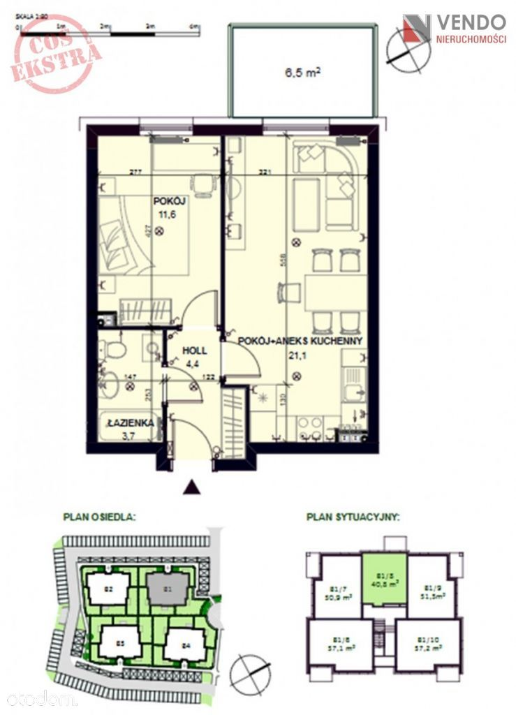 2 Pokoje Mieszkanie Na Sprzedaż Pobiedziska Poznański Wielkopolskie 59437119 Wwwotodompl