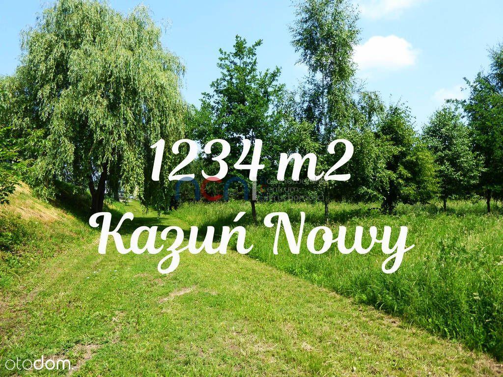 Działka na sprzedaż, Kazuń Nowy, nowodworski, mazowieckie - Foto 1