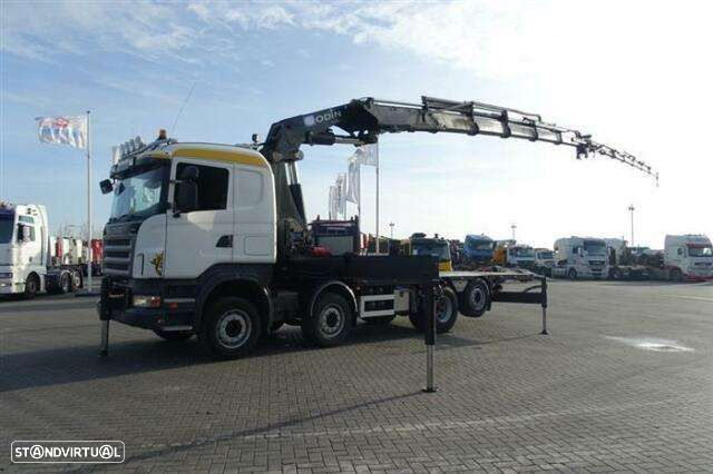 Scania R480 8x2 Hmf Odin O K5 With Jib Euro 4 - 1