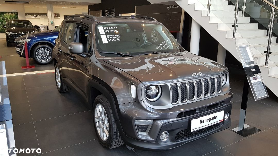Jeep Renegade Limited 120 Benzyna - 1