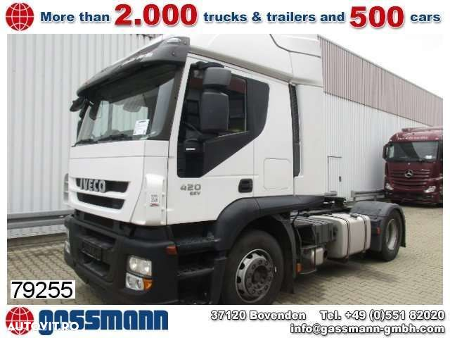 Iveco Stralis AT440S42T/P 4x2 SZM INTARDER - 1