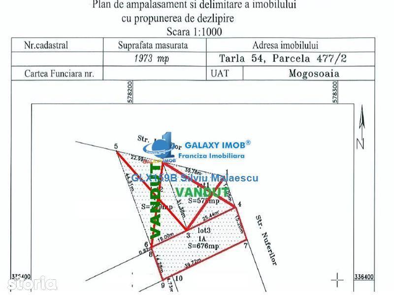 Teren de Vanzare, Ilfov (judet), Strada Livezilor - Foto 3