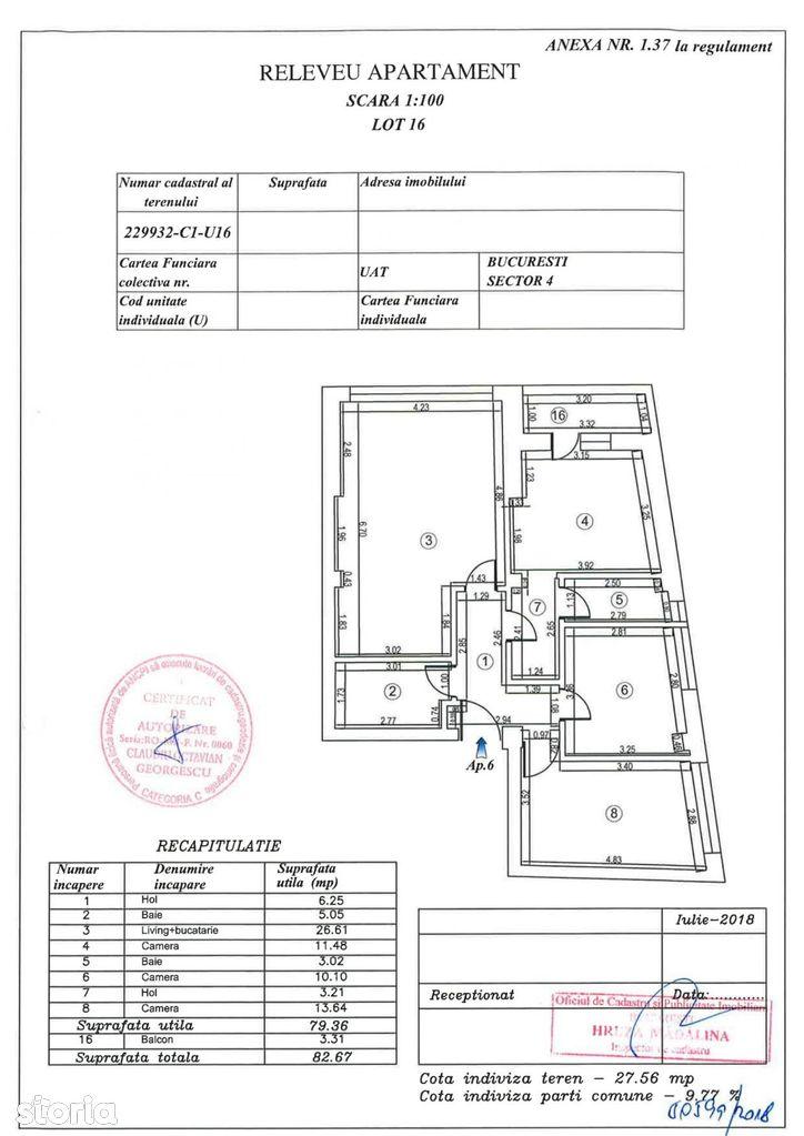 Apartament de vanzare, București (judet), Intrarea Urcușului - Foto 1