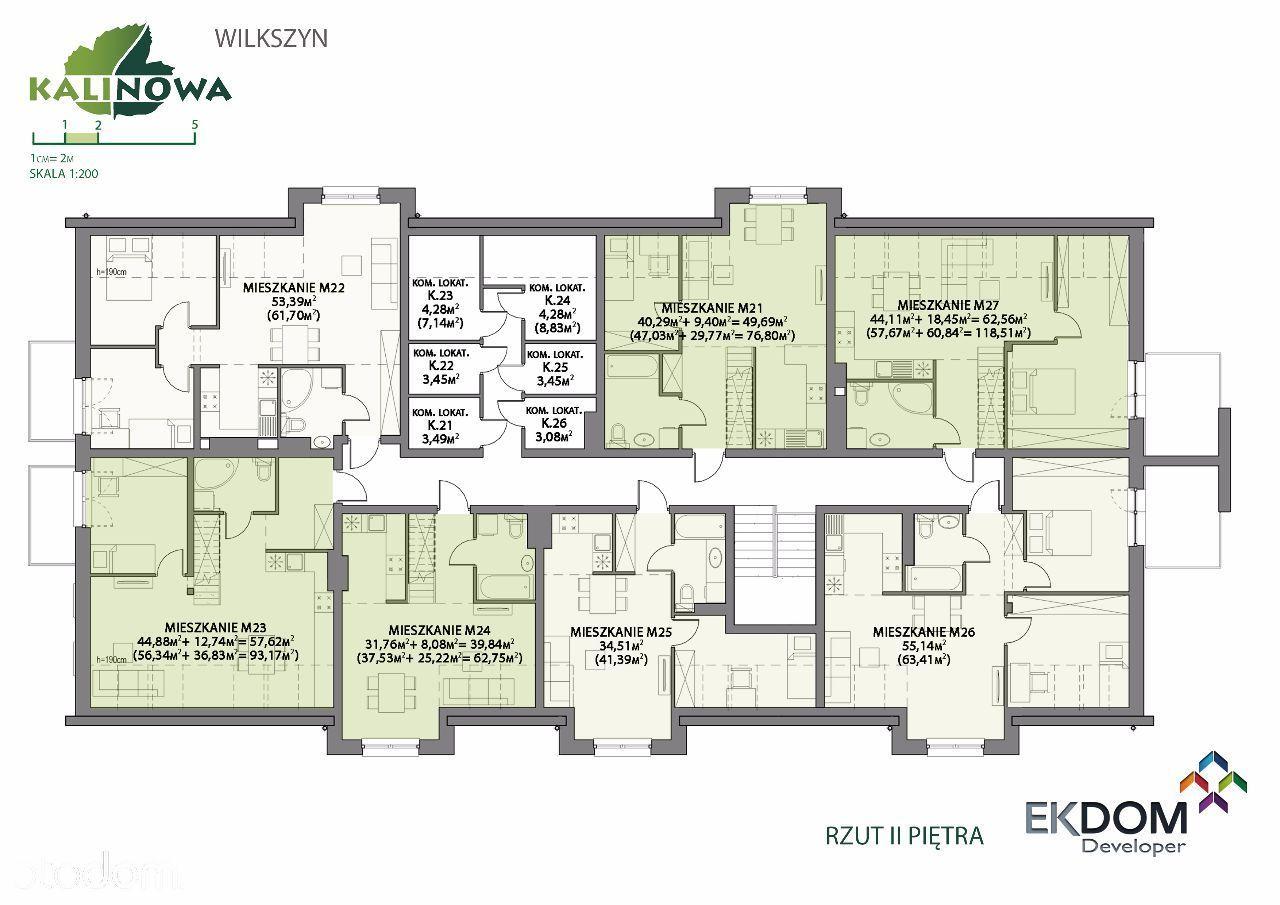 Mieszkanie na sprzedaż, Wilkszyn, średzki, dolnośląskie - Foto 2