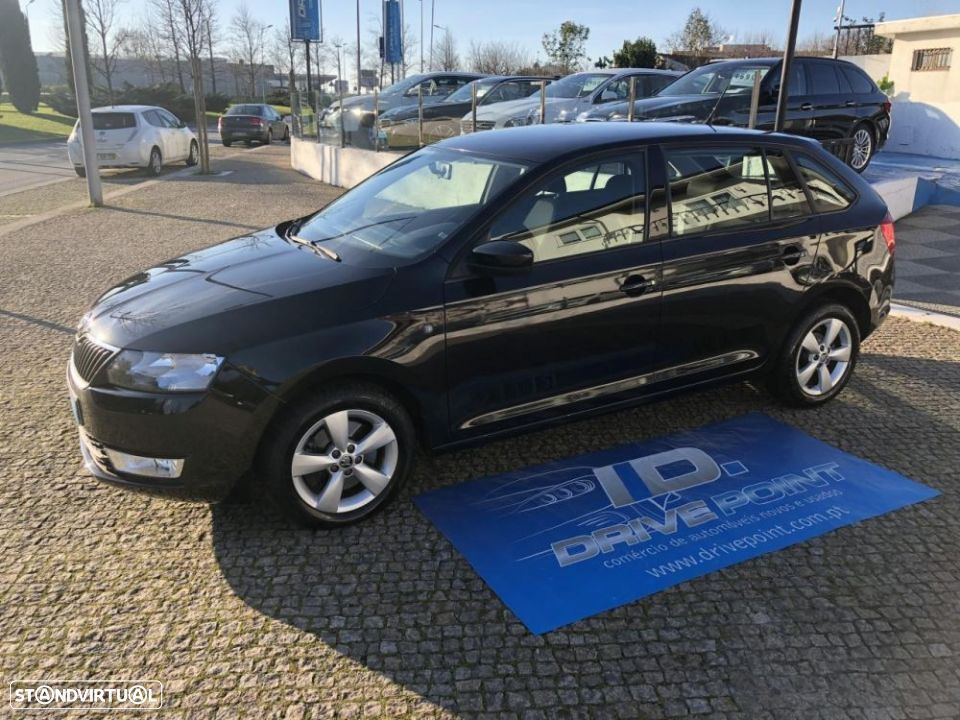 Skoda Rapid Spaceback 1.6 TDi Ambition - 20