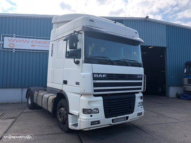 DAF FT XF95-430 SPACECAB (MANUAL GEARBOX / ZF-INTARDER / HYDRAULIC KIT / AIRCONDITIONING) - 2