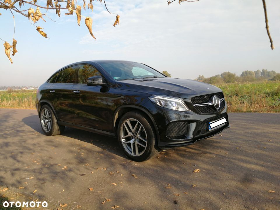 Mercedes-Benz GLE d 4MATIC Coupé Faktura VAT - 18