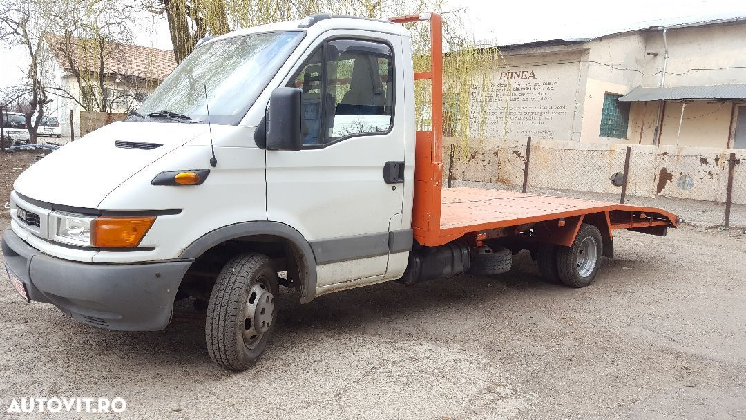 Iveco Daily 35C13 -2.8-6+1 trepte -Autoplatforma Iveco Daily 35C13 ptr. Tractari/Transport auto vehicule - 25