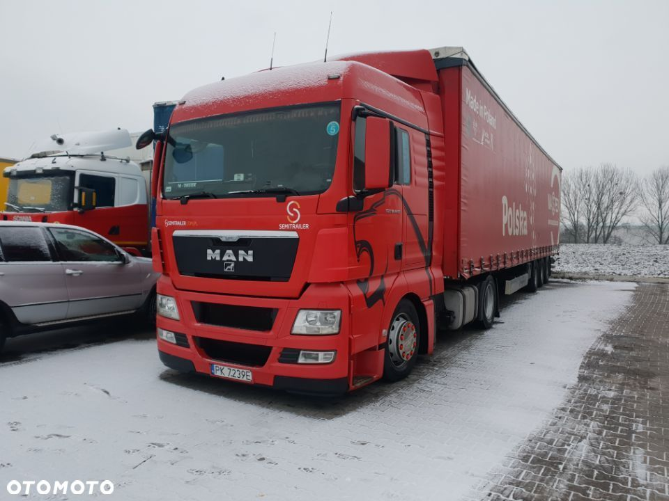 MAN TGX 18.440 2010 E5 LOW DECK - MEGA! MANUAL! PIĘKNY! - 14