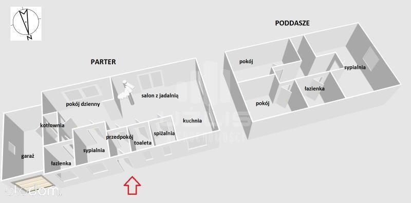 Dom na sprzedaż, Szteklin, starogardzki, pomorskie - Foto 2