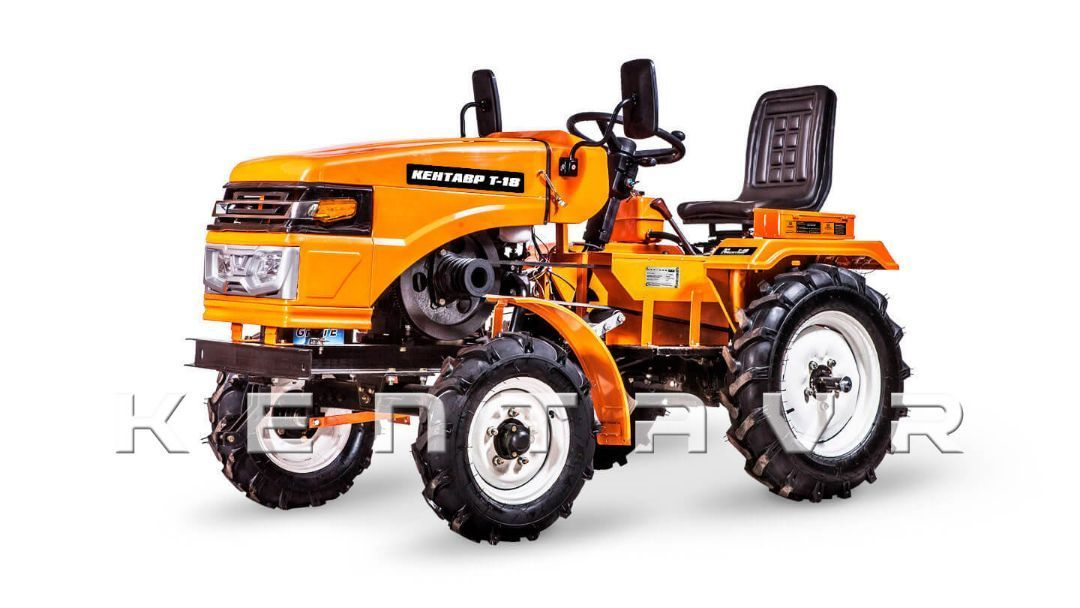 Tractor KENTAVR T-18, 18CP, 2x4WD - 26