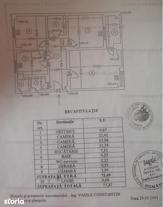 Apartament de vanzare, București (judet), Strada Mămulari - Foto 7
