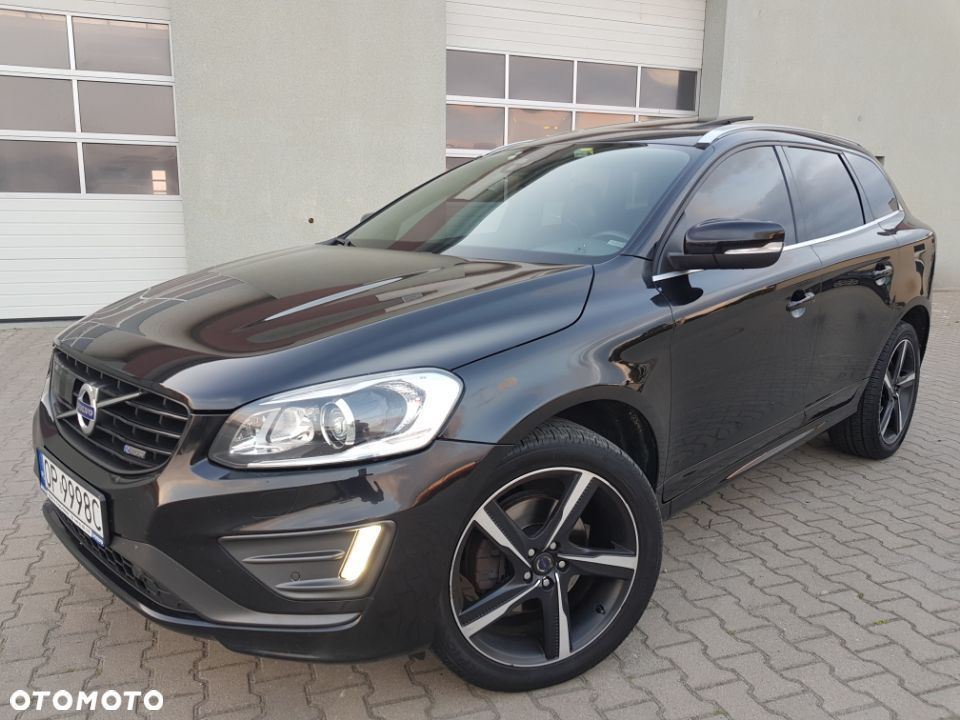 Volvo XC 60 2.4 D5 215KM R DESIGN SALON PL 1wł Stan Ideał ! FULL f ra 23% - 1