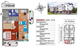 Katowice- M10 Apartament 3 pokojowy - 51,36 m2